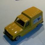 Norev jet-car 1:43 renault R4 VAN FOURGONNETTE PTT POST  diecast model loose @sold@